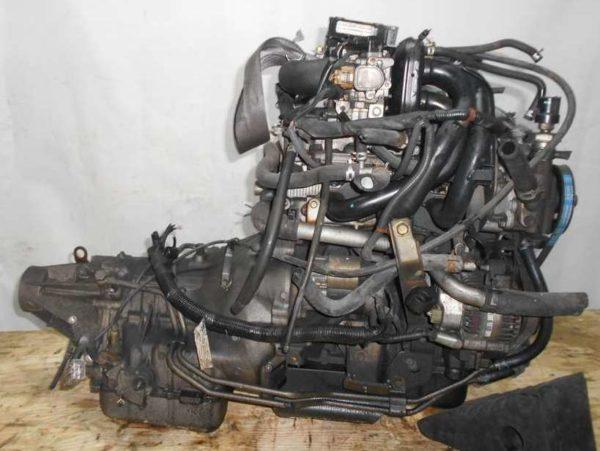 Двигатель Daihatsu EF-DEM - 6678385 AT GLS8 FR J131G 121 000 km коса+комп 4