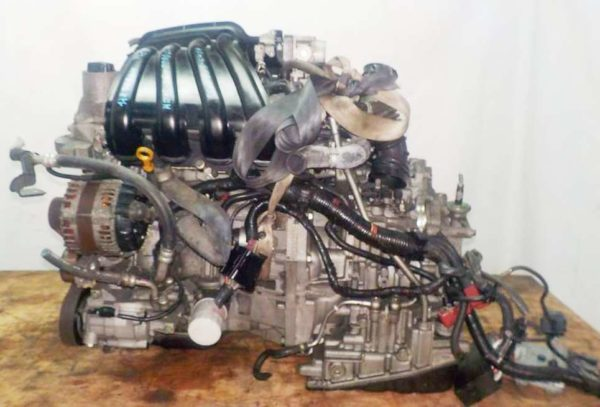 Двигатель Nissan HR15-DE - 224465A CVT RE0F08B GH54 FF YGZ11 111 703 km коса+комп 1