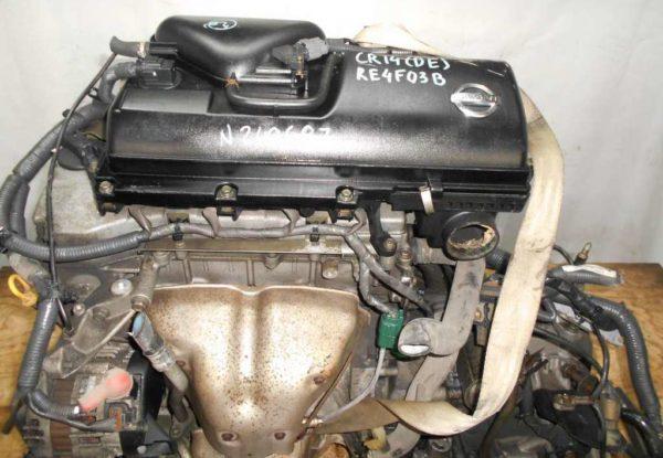 Двигатель Nissan CR14-DE - 249687 AT RE4F03B FF Z11 102 000 km коса+комп 2