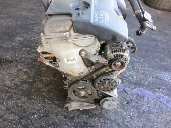 Двигатель Toyota 1NZ-FE - D527203 CVT K210-02A FF NCP81 152 000 km электро дроссель коса+комп 3
