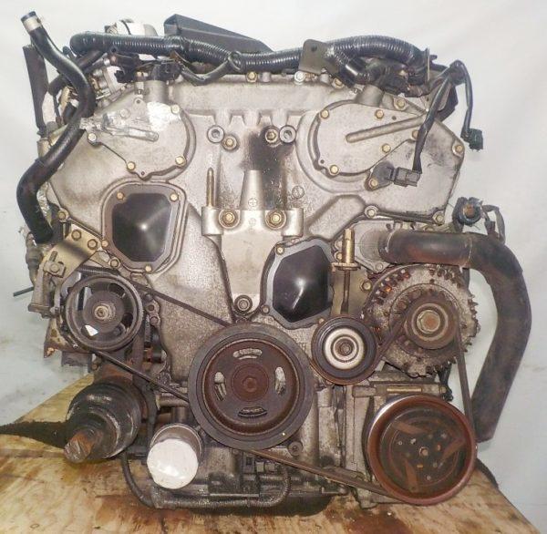 Двигатель Nissan VQ25-DD - 129899A AT RE4F04B FF A33 NEO без датчика скорости коса+комп 5
