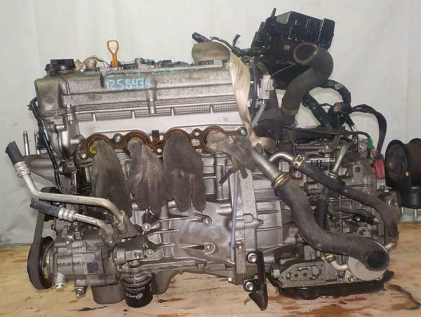 Двигатель Suzuki K12B - 1258476 CVT FF ZC71S коса+комп 1