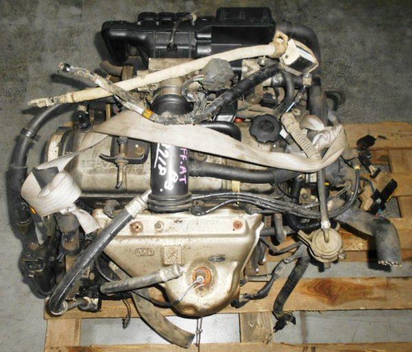 Двигатель Mazda B3 - 813719 AT FF DW3W Black без датчика скорости, без КПП 2