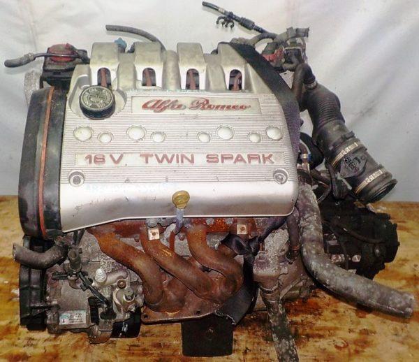 Двигатель Alfa Romeo AR32104 - 938157 MT FF 147 Twin Spark 142 247 km коса+комп 2