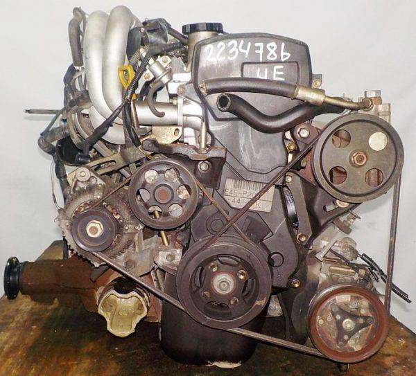 Двигатель Toyota 4E-FE - 2234786 AT A244F FF 4WD коса+комп, брак компа 3