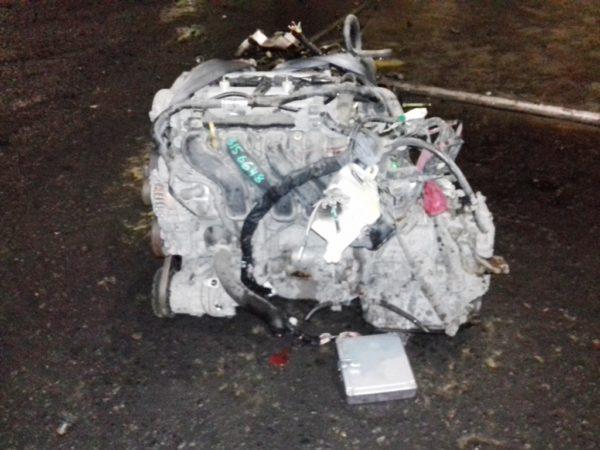 Двигатель Toyota 1NZ-FE - B156648 AT U340F FF 4WD NCP85 124 000 km механический дроссель коса+комп 3