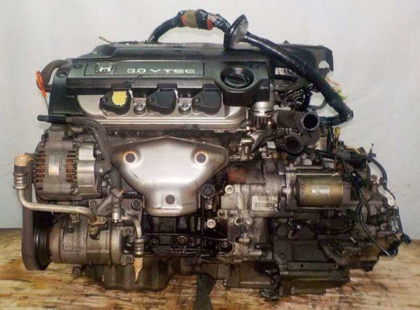 Двигатель Honda J30A - 4404707 AT MGSA FF VTEC коса+комп 1