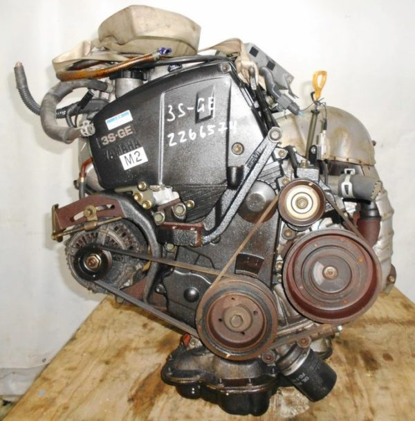 Двигатель Toyota 3S-GE - 2266574 AT A241E-622 FF SW20 коса+комп 3