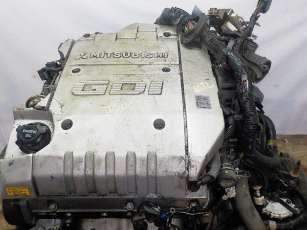 Двигатель Mitsubishi 6G72 - JC0075 AT F5A512D5B4 FF F36A GDI MD352147 коса+комп 2
