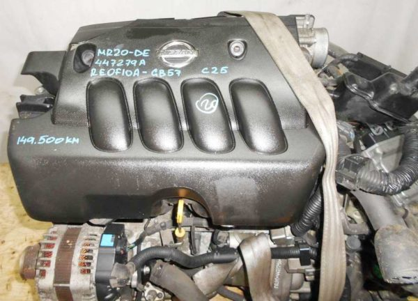 Двигатель Nissan MR20-DE - 447279A CVT RE0F10A GB57 FF B30 149 500 km коса+комп 2