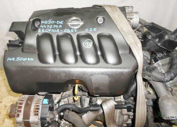 КПП Nissan MR20-DE CVT RE0F10A GB57 FF B30 2