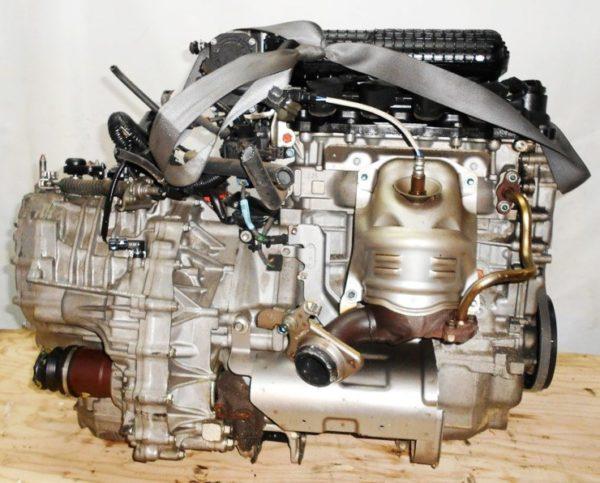 Двигатель Honda LEA - 3036096 CVT SD5A FF GP3 98 000 km коса+комп 4