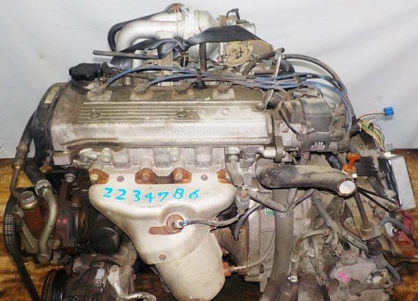 Двигатель Toyota 4E-FE - 2234786 AT A244F FF 4WD коса+комп, брак компа 2