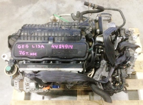 Двигатель Honda L13A - 4484914 CVT SE5A FF GE6 76 000 km коса+комп 2