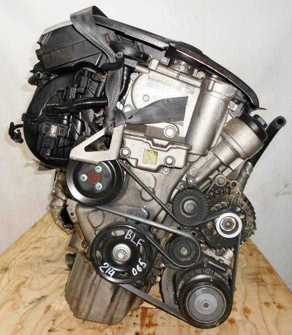 Двигатель Volkswagen BLF - 214065 AT FF Golf 180 000 km 3