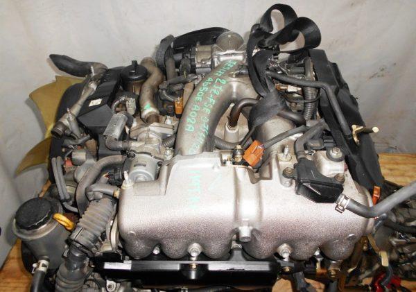 Двигатель Toyota 2JZ-FSE - 0753420 AT 35-50LS A650E-A02A FR JZS177 119 000 km коса+комп, нет выпускного коллектора 2