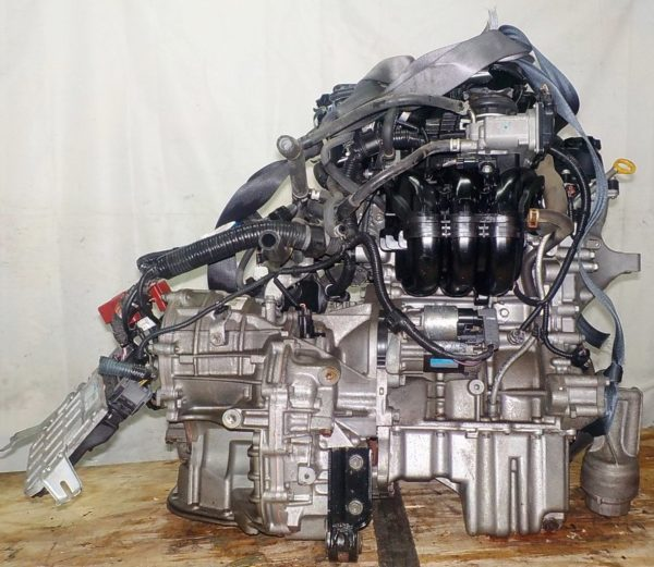 Двигатель Toyota 1KR-FE - 0143470 CVT K410-04A FF KSP90 коса+комп 4