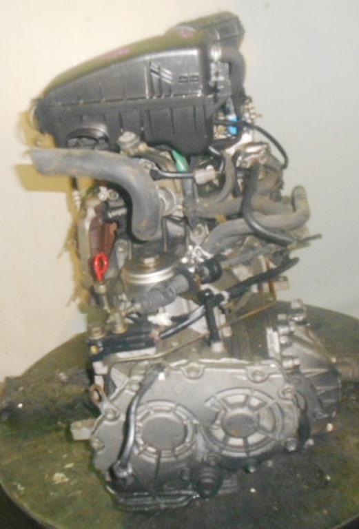 Двигатель Suzuki F6A - 2580766 AT FF селектор и охл.сверху 4