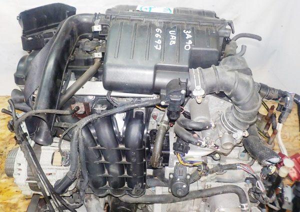 Двигатель Mitsubishi 3A90 - UAB6697 CVT F1CJB FF A05A коса+комп 2