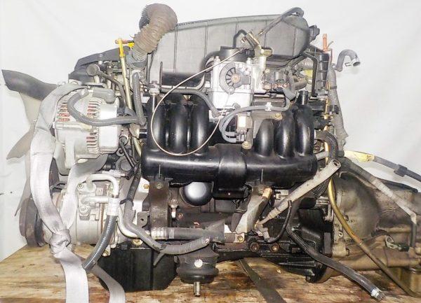 Двигатель Toyota 1G-FE - 6976934 AT 03-70LS 35000-2C400 FR BEAMS коса+комп 1