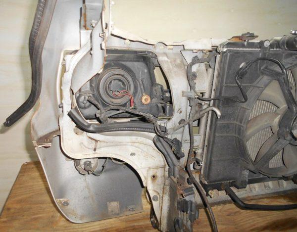 Ноускат Mitsubishi Pajero Mini, (1 model) (W101874) 7