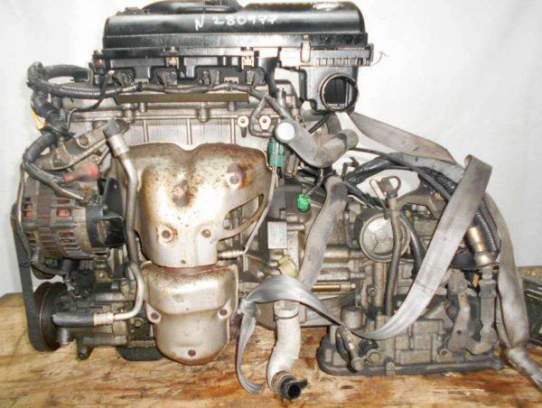 Двигатель Nissan CR14-DE - 280977 AT RE4F03B FF Z11 119 000 km коса+комп 1