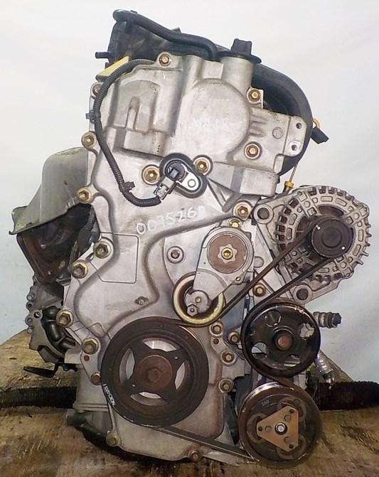 Двигатель Nissan MR18-DE - 007526A CVT RE0F08A FF коса+комп 3