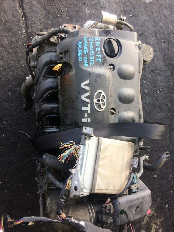 Двигатель Toyota 2NZ-FE - 2605312 AT U441E-01A FF NCP60 154 000 km коса+комп 2