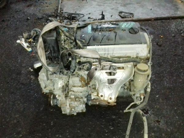 Двигатель Toyota 2NZ-FE - 2595918 AT U441E FF NCP60 коса+комп 1