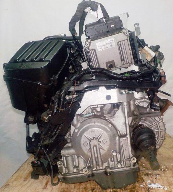 Двигатель Volkswagen AXW - 019737 AT FF коса+комп 6