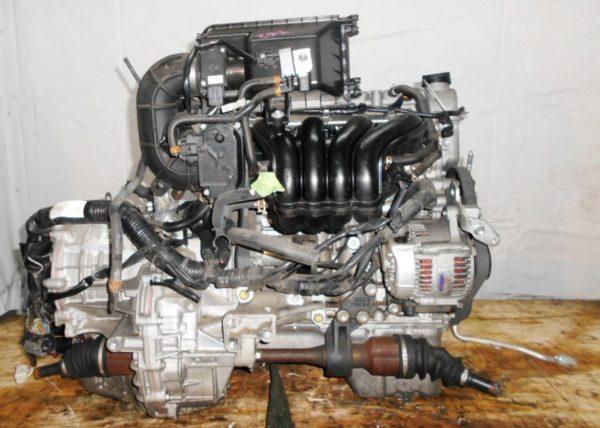 Двигатель Suzuki K12B - 1124077 CVT FF ZC71S коса+комп 1