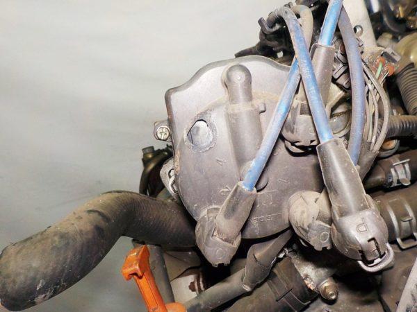 Двигатель Toyota 4E-FE - 2234786 AT A244F FF 4WD коса+комп, брак компа 6