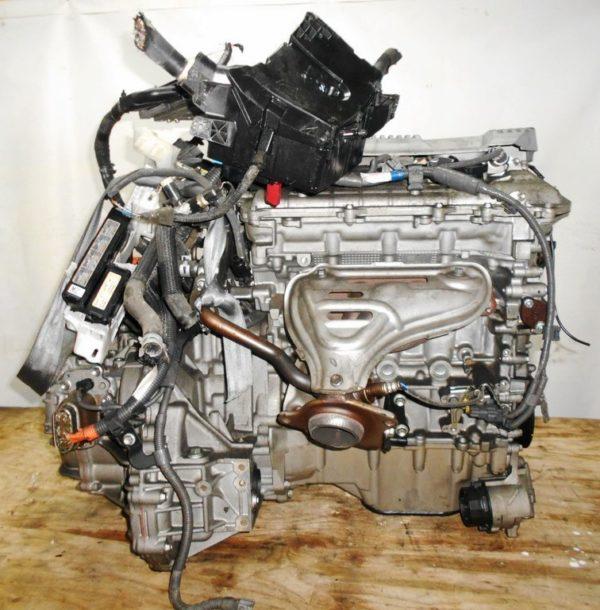 Двигатель Toyota 2ZR-FXE - R133244 AT FF ZVW30 54 000 km коса+комп 4