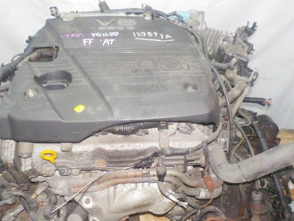 Двигатель Nissan VQ25-DD - 129899A AT RE4F04B FF A33 NEO без датчика скорости коса+комп 2