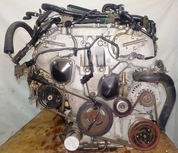 Двигатель Nissan VQ25-DD - 128620A AT RE4F04B FF A33 NEO без датчика скорости коса+комп 4