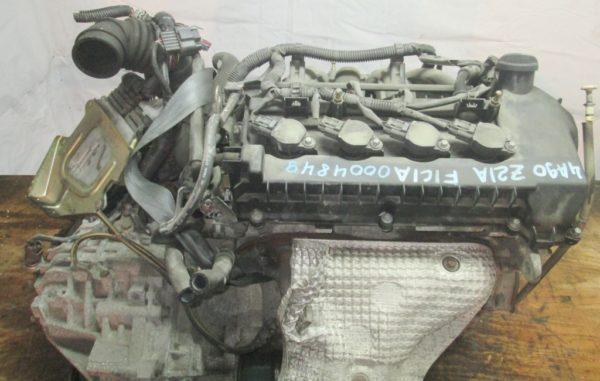 Двигатель Mitsubishi 4A90 - 0007849 CVT F1C1A FF Z21A коса+комп 5