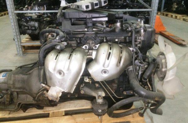 Двигатель Toyota 1G-FE - 6940453 AT 03-70LS 35000-2C400 FR BEAMS коса+комп 8