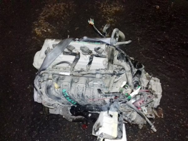 Двигатель Toyota 1NZ-FE - B156648 AT U340F FF 4WD NCP85 124 000 km механический дроссель коса+комп 2