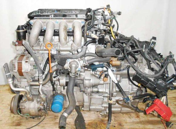 Двигатель Honda L13A - 4472983 CVT SE5A FF GE6 106 000 km коса+комп, нет выпускного коллектора 1