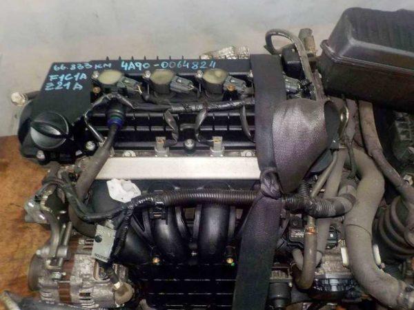 Двигатель Mitsubishi 4A90 - 0064824 CVT F1C1A FF Z21A 66 833 km коса+комп 2