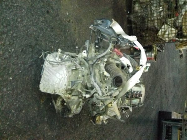 Двигатель Toyota 1ZZ-FE - 1298962 AT U341E FF ZCT10 Black 143 000 km коса+комп 5