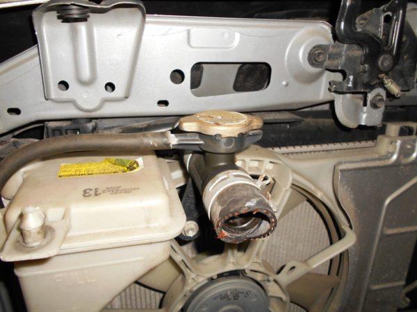 Ноускат Toyota Vitz 90, (1 model) (M1811031) 7