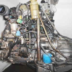 Двигатель Isuzu 4JX1-T - 674792 AT 30-40LE FR (99KR406353) 4WD Bighorn трос кикдауна коса+комп, неисправна форсунка 10