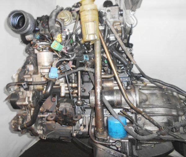 Двигатель Isuzu 4JX1-T - 674792 AT 30-40LE FR (99KR406353) 4WD Bighorn трос кикдауна коса+комп, неисправна форсунка 1