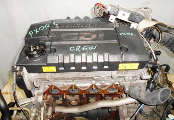 Двигатель Mitsubishi 4G94 - PX0127 CVT F1C1A FF CR6W GDI MR578557 74 000 km комп 6