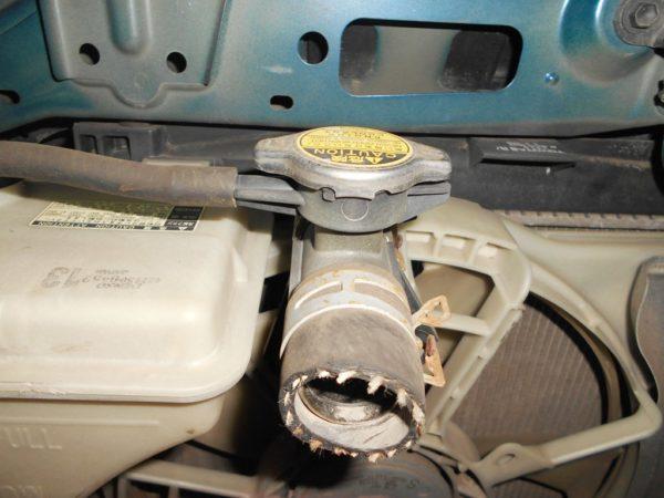 Ноускат Toyota Vitz 90, (1 model) (E031920) 7