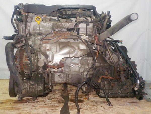 Двигатель Nissan VQ25-DD - 129899A AT RE4F04B FF A33 NEO без датчика скорости коса+комп 1