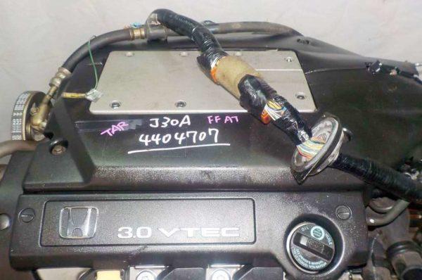 Двигатель Honda J30A - 4404707 AT MGSA FF VTEC коса+комп 2