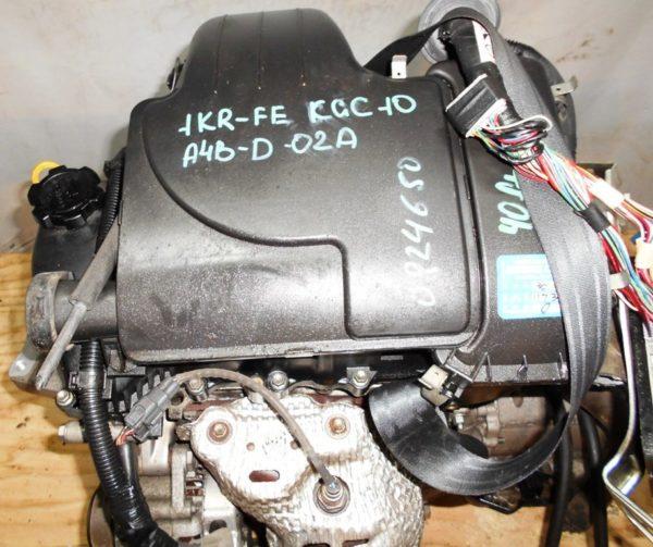 КПП Toyota 1KR-FE AT A4B-D-02A FF KGC10 2