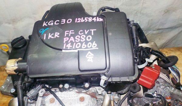 КПП Toyota 1KR-FE CVT FF 2